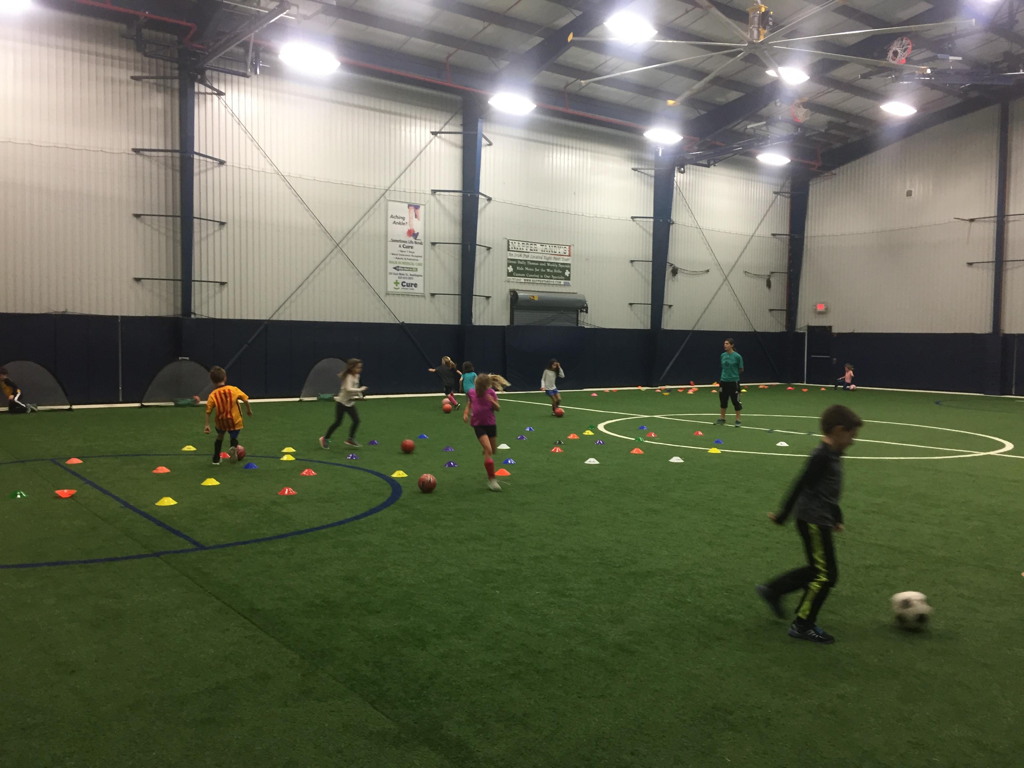Intramural Soccer Training