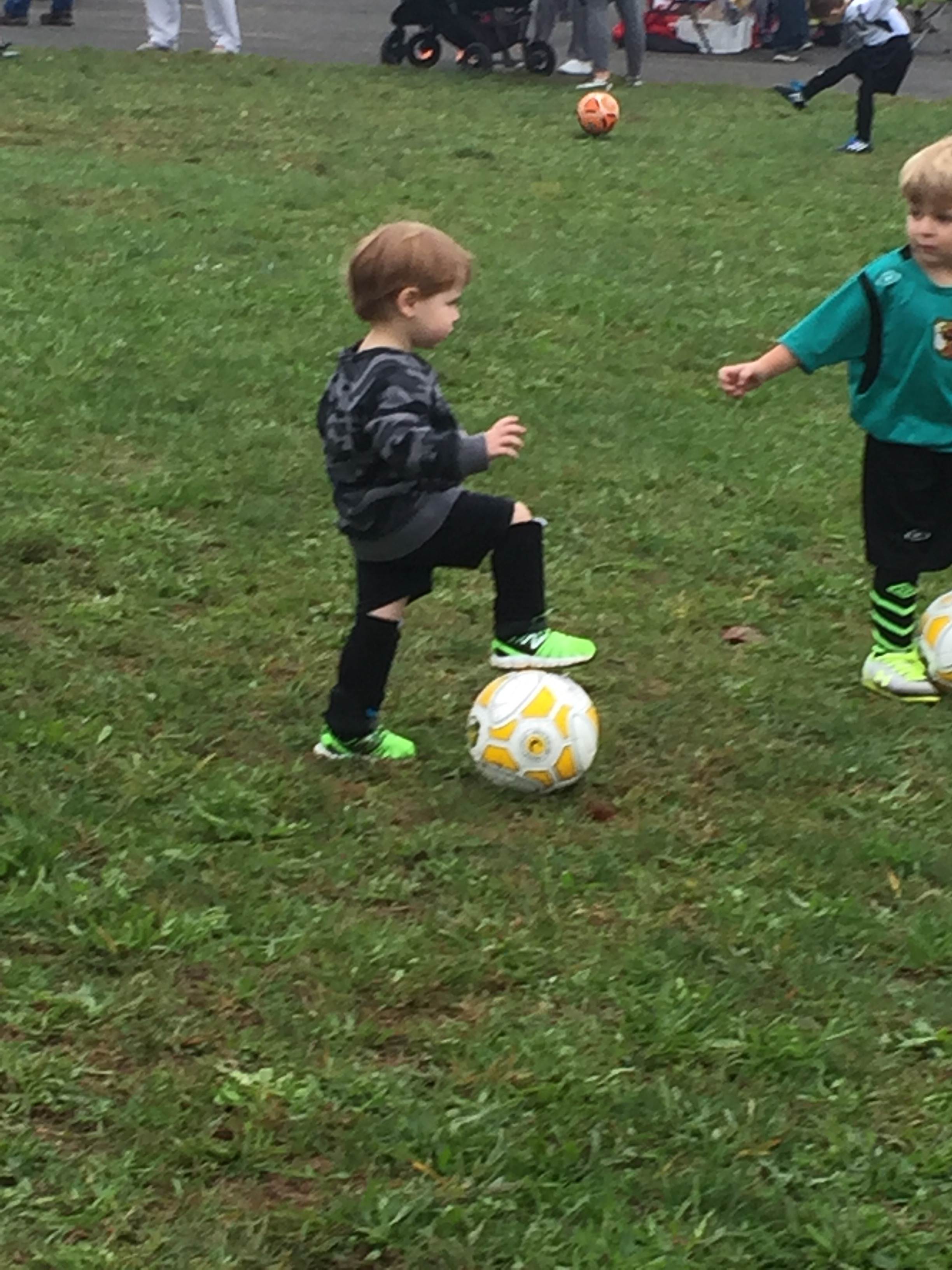 Soccer training for beginners