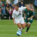 Princeton University women's soccer vs. Dartmouth, Princeton, NJ, September 30, 2006. Photo by Beverly Schaefer.
